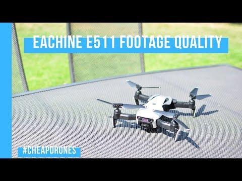Eachine e511 Footage Test