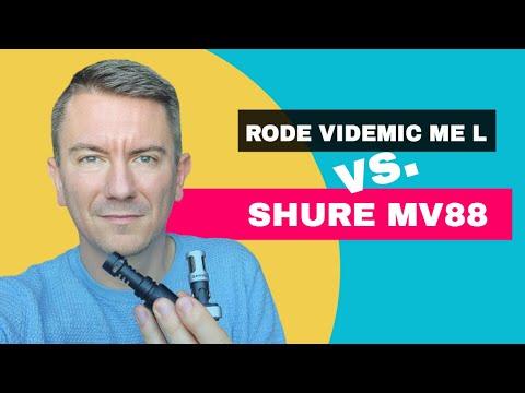 Shure MV88 vs. RODE VideoMic ME L - welches ist das bessere Lightning iPhone Mikrofon für Vlogging?
