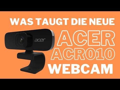 Acer QHD Webcam ACR010 Test vs. Aukey und Logitech Webcams