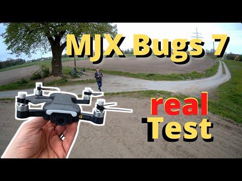 MJX Bugs 7 B7 Footage Test deutsch