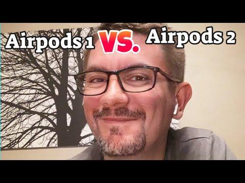 Airpods 2 vs. Airpods 1 Review deutsch - lohnt sich der Umstieg?