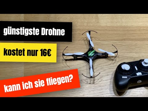 Mini Drohnen Test: JJRC H8 Mini Drohne im Review - wie gut kann ich sie fliegen? (deutsch)