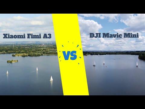 Mavic Mini vs. Xiaomi Fimi A3 (Fixed Wing Mode) Video Quality Test