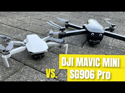 SG906 Pro vs DJI Mavic Mini Footage Quality Comparison