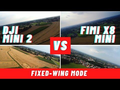 Fimi x8 Mini vs. DJI Mini 2 Fixed Wing Mode Vergleich (welche ist besser?)