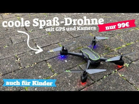 Drohnen Test: ASBWW Drohne mit GPS unter 100 Euro für Anfänger und Kinder (lese auch die Kommentare)