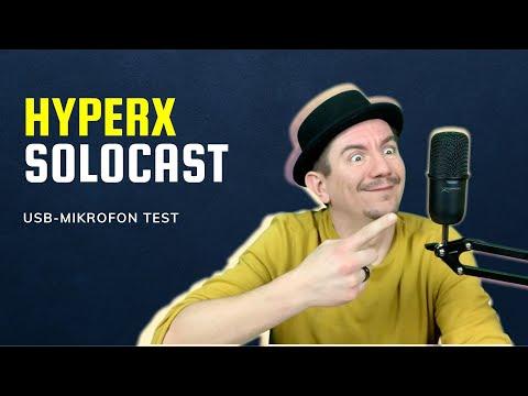 HyperX SoloCast USB Mikrofon Vergleich – wie gut klingt das günstige HyperX Mikrofon?
