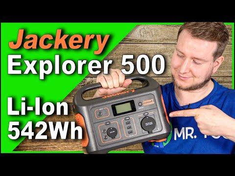 NEUHEIT: JACKERY Explorer 500 Power Station 🔋 VERGLEICH mit AC50s! 542Wh   Test & Review   autark