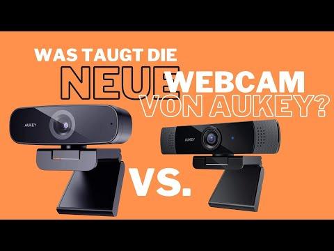 Aukey Webcam 1080p Test im Vergleich: altes PC-LM1E vs. neues PC-W3 Modell bei Amazon
