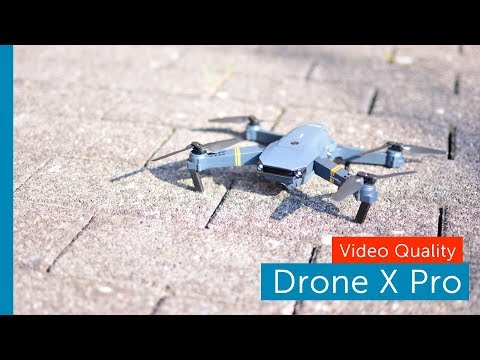 DroneX Pro footage test review - what a mess