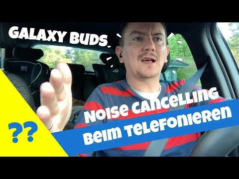 Galaxy Buds geniales Mikrofon Noise Cancelling beim telefonieren