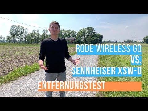 RODE Wireless Go vs. Sennheiser XSW-D - Audioqualität auf Entfernung