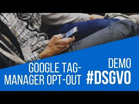 DEMO: Google Tag Manager DSGVO konform einbinden
