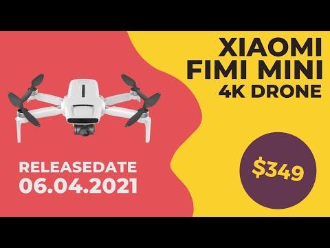Die Fimi Mini 4K Drohne wird am 6.4.21 unter dem Namen Fimi x8 mini vorgestellt