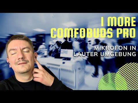 1More Comfobuds Pro Mikrofon Qualität beim Telefonieren in lauter Umgebung