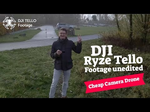 DJI Ryze Tello Footage Test