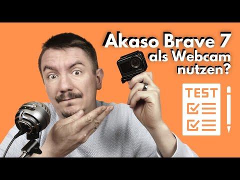 Akaso Brave 7 Actioncam als Webcam verwenden deutsch