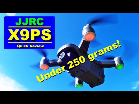 The new JJRC X9PS - Now under 250 grams with Longer Flight & Range - Quick Review