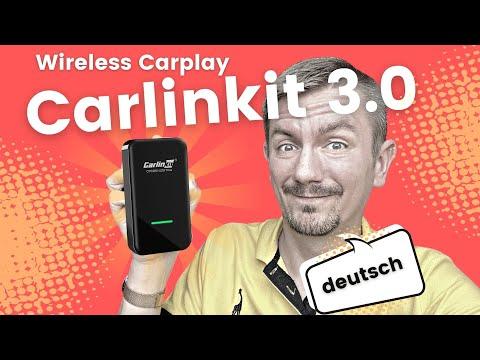Carlinkit 3.0 wireless Carplay Dongle Adapter (deutsch)