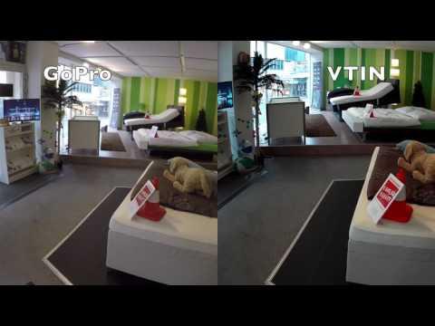 GoPro Hero 4 vs. VTIN EyPro Actioncam Low-Light Indoor Vergleich