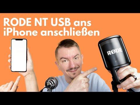 RODE NT USB iPhone Anschluss mit Adapter möglich?
