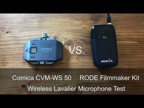 RODE Rodelink Filmmaker Kit vs Comica CVM-WS50 Test am iPhone Lightning Port