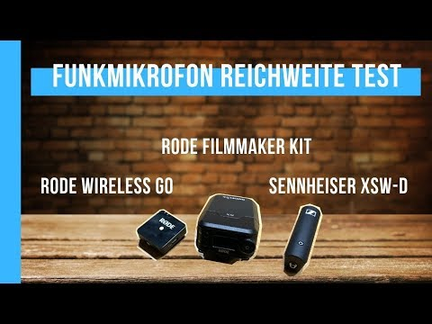 Rode Wireless Go vs. Rode Filmmaker Kit vs. Sennheiser XSW-D