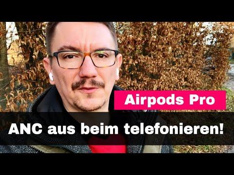Mit Airpods Pro telefonieren: Mikrofon Einstellung optimal wählen