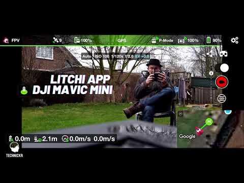 DJI Mavic Mini Litchi App Walkthrough deutsch [Teil1/2] (2021)