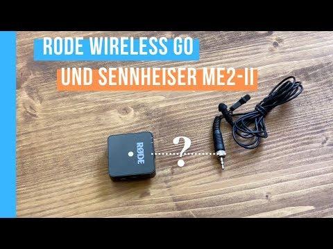Kann ich das das RODE Wireless Go mit einem Sennheiser ME2 Lavalier Mikrofon betreiben?