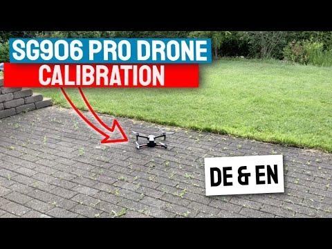 SG906 Pro GPS Drohne Kalibrierung vor dem Flug