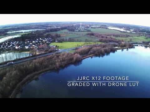 JJRC X12 Footage LUT graded