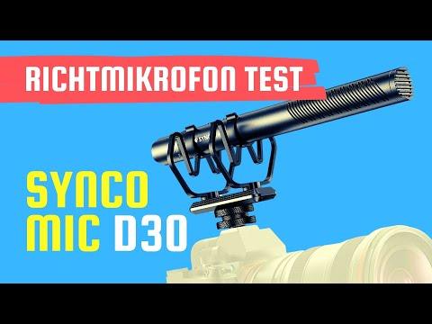 Ist das Synco Mic D30 Shotgun Mic Richtmikrofon ein gutes Mikrofon für YouTube Videos?