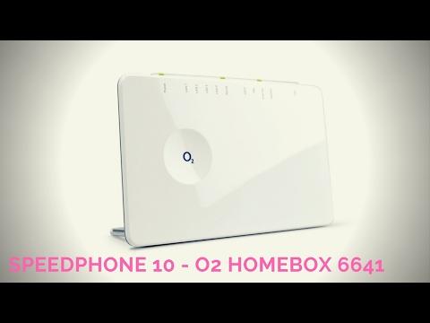 Speedphone 10 cat-iq 2.0 DECT Telefon an der o2 Homebox 6641