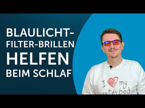 Schneller einschlafen dank Blaulichtfilter Brille? Was ist dran am neuen Trend?
