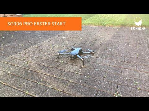 SG906 Pro Drone Setup und Anleitung für den ersten Start (deutsch)