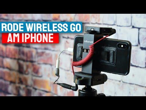 RODE Wireless Go am iPhone anschließen