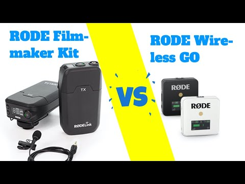 Rode Wireless Go vs Rode Filmmaker Kit - welches Funkmikrofon ist besser?
