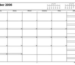 Blankokalender mit Outlook ausdrucken