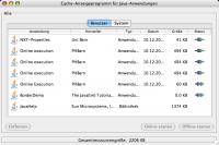 Java Webstart Cache Manager