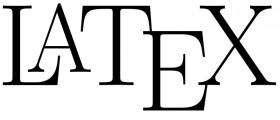 latex textsatz logo