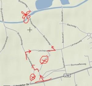 scribblemaps - google maps Kritzeleien