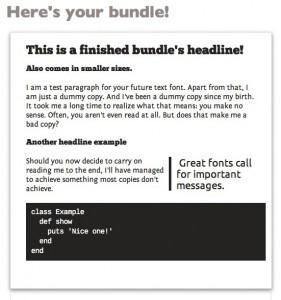 generiere zueinander passende Webfonts für lau