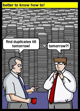Duplikate in sql finden