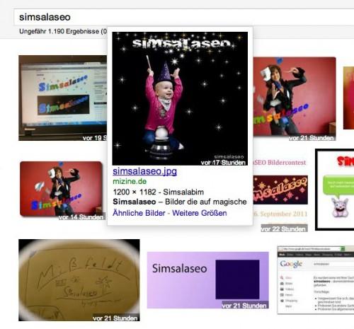 Simsalaseo Bild Ranking