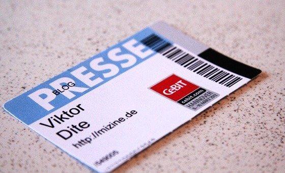 Als Blogger kostenlos zur Cebit 2012