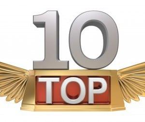 Top 10 Beiträge im vergangenen Jahr 2011