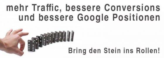 2012 mehr traffic und conversions durch bessere google positionen