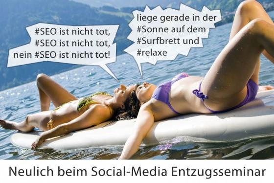 Mädels social-media Entzugsseminar