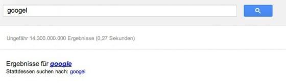 Ergebnisse-Googel